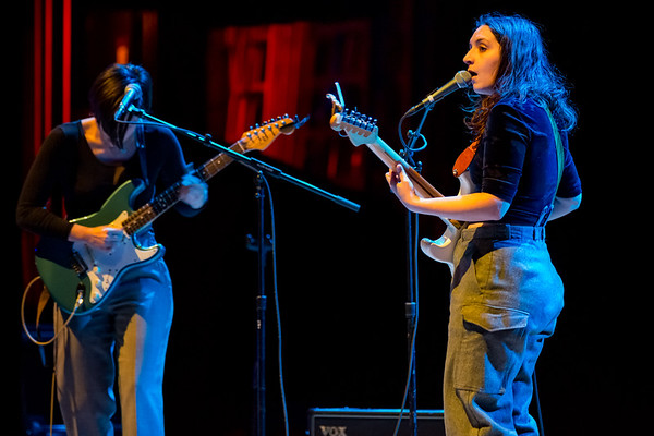 April 5, 2018 OHMME in support of Jeff Tweedy solo concert at the Royal Oak Music Theatre in Royal Oak, Michigan in support of Together At Last. Photo by Tony Vasquez for Jams Plus Media.
