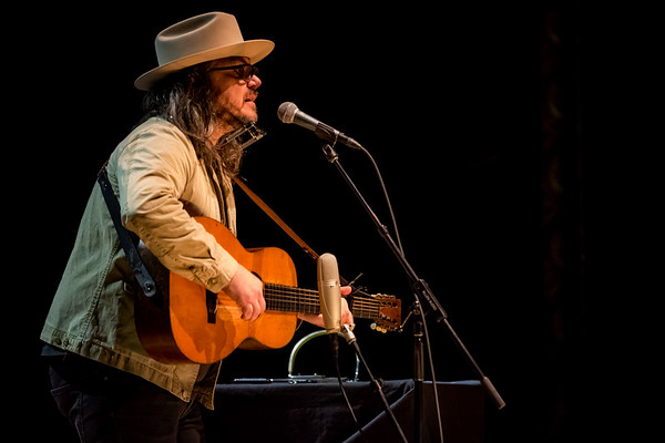 April 5, 2018  Jeff Tweedy solo concert at the Royal Oak Music Theatre in Royal Oak, Michigan  in support of  Together At Last. Photo by Tony Vasquez for Jams Plus Media.