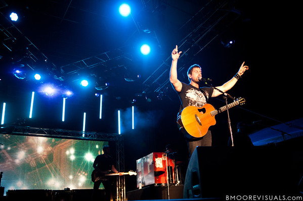 """Jeremy Camp performs on September 11, 2010 during """"Rock The Universe"""" at Universal Studios in Orlando, Florida."""