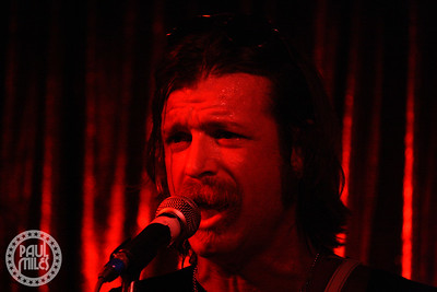 """Jesse """"The Devil"""" Hughes performing solo in Australia during February 2010."""