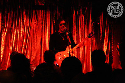 Jesse Hughes from the Eagles of Death Metal performs an intimate solo set in Melbourne, Australia.