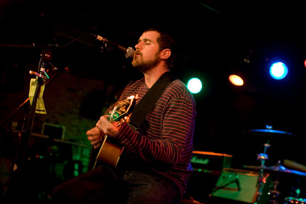 Jesse Lacey and Vin Accardi of Brand New - Mercury Lounge, NYC - October 17th, 2007 - Pic 2