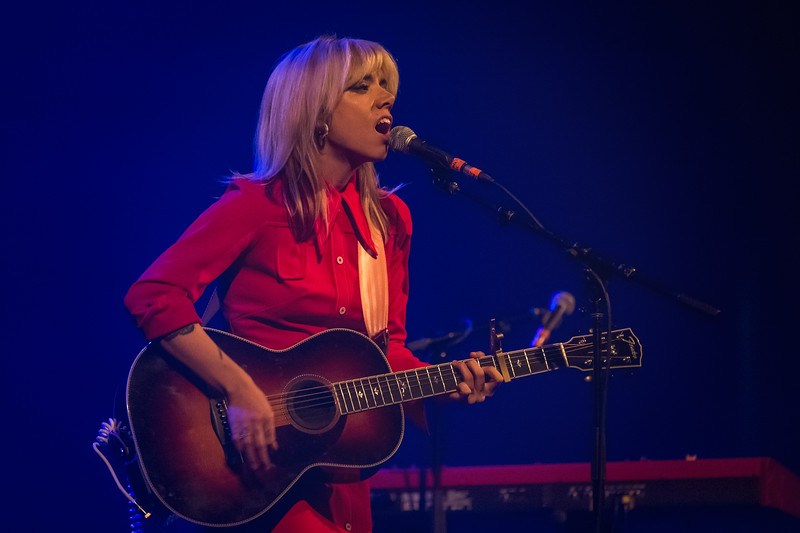 Alynda Segarra opening for Jim James at the Louisville Palace on November 21, 2018. Photo by Tony Vasquez for Jams Plus Media.