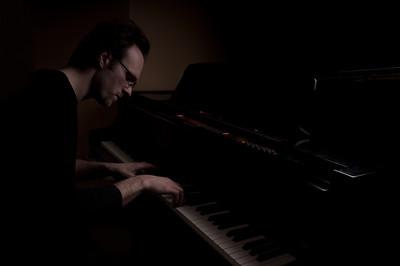 Jim at piano