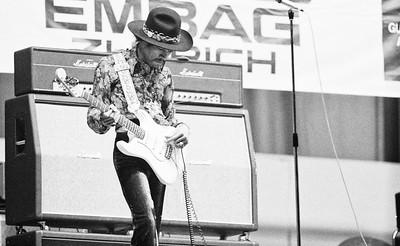 Jimmy Hendrix - Hallenstadion 1968