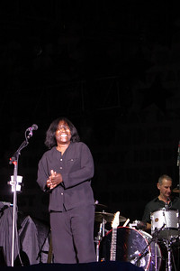 Joan Armatrading was the second act.