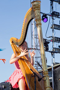 Joanna Newsom, 10/14/2012, Treasure Island Music Festival, San Francisco