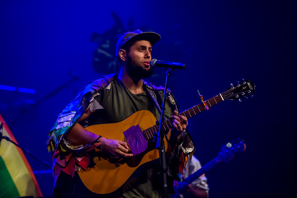 Joe Hertler & The Rainbow Seekers at the Brown County Music Center on October 26, 2019. Photo by Tony Vasquez