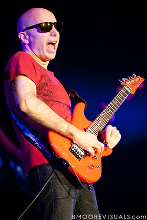 "Joe Satriani performs in support of ""Black Swans and Wormhole Wizards"" on December 4, 2010 at Ruth Eckerd Hall in Clearwater, Florida"