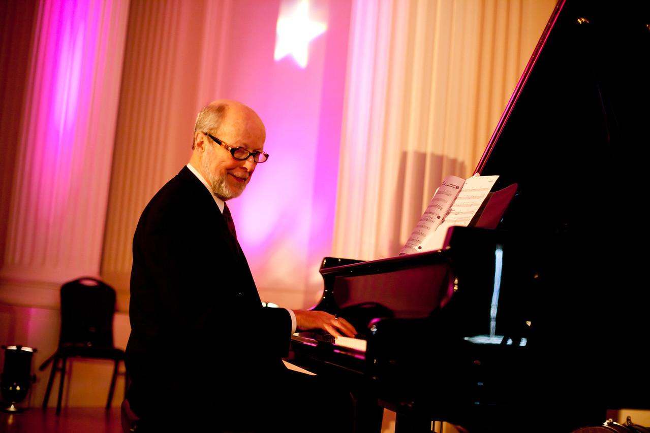 "John Bennett, piano<br /> (Courtesy of ""A Niko Productions Video + Photo"")"