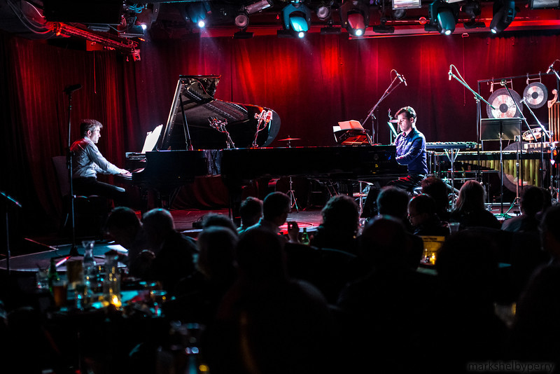 John Corigliano's 7.5 at le Poisson Rouge, April 2013, Copyright Mark Shelby Perry 2013