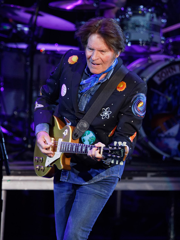 . John Fogerty live at DTE on 6-27-2018.  Photo credit: Ken Settle
