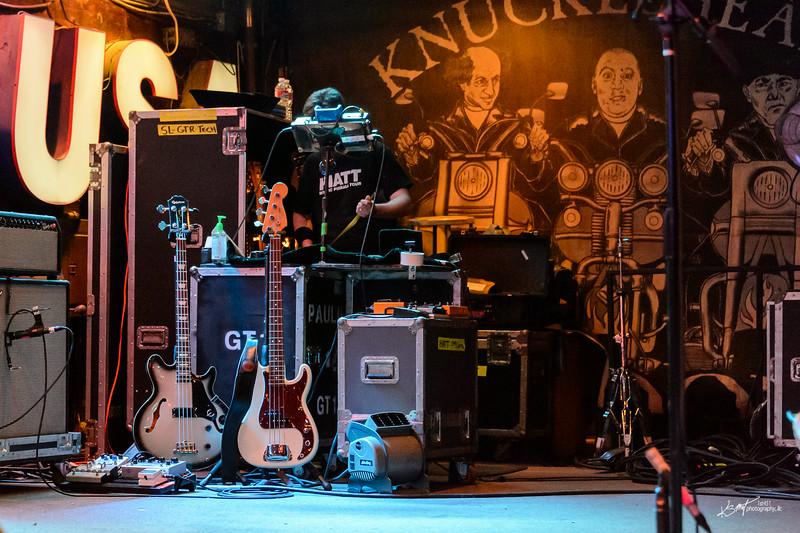 Nathan Gehri's bass guitars