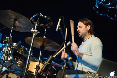 John Mark McMillan performs on November 11, 2011 at House of Blues in Orlando, Florida