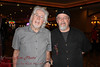 John Mayall and me (he was really glad to meet me).