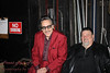 Rick Estrin and James Harman before the show