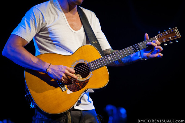 John Mayer performs at 1-800-ASK-GARY Amphitheater in Tampa, Florida on September 10, 2010