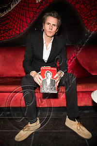 LOS ANGELES, CA - OCTOBER 24:  Musician John Taylor of Duran Duran attends his book signing at Cinespace on October 24, 2012 in Los Angeles, California.  (Photo by Chelsea Lauren/WireImage)