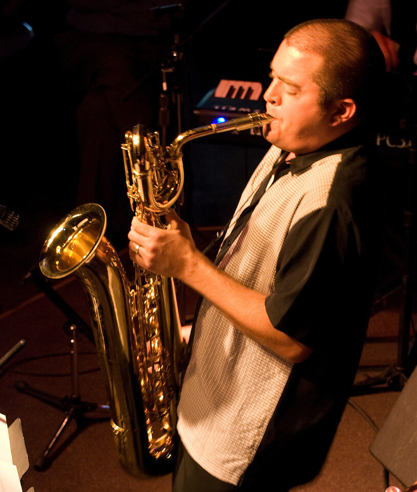 Aaron Lington<br /> Aaron Lington Quintet<br /> When Worlds Collide, Little Fox Theater, 10.18.2009