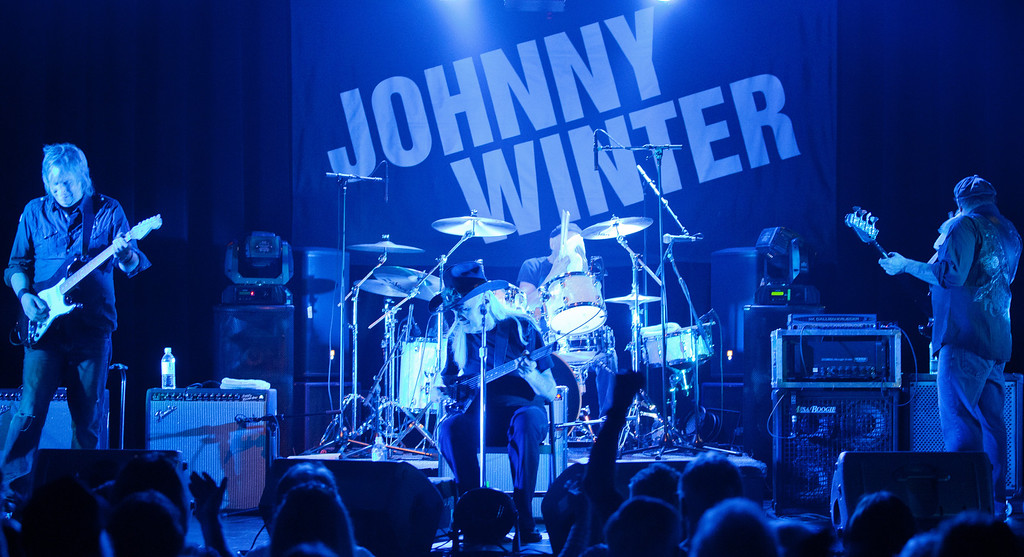 Johnny Winter 5.17.12 Miners Foundry Paul Emery Presents