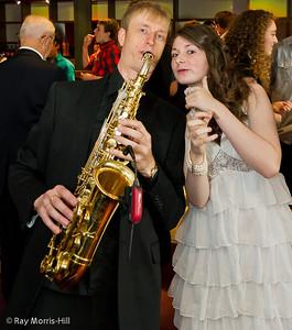 Jonathan Pein Bar Mitzvah Party  - The Kedma Band and Victoria Just, Dancer