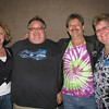 The lovely Deb, Frank, Stevie Keys, and yours truly!