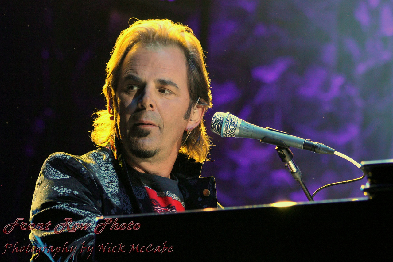 """After performing, writing and recording with some of the some of the best known bands and vocalist of the eighties, keyboardist and longtime member of """"Journey"""", Jonathan Cain can look back and reflect on a successful career. With the band Journey, their song """"When You Love A Woman"""" was nominated for a Grammy, he has received two of the most prestigious BMI songwriter awards - """"Most Performed Song of the Year"""", for over two million or more radio plays with songs """"Open Arms and """"Who's Cryin Now""""."""