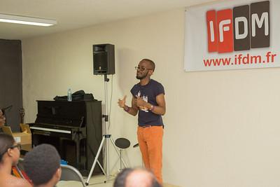 Jowee Omicil à L'IFDM