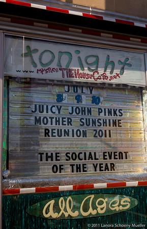 Juicy John Pink's reunion, DeKalb, July 9, 2011