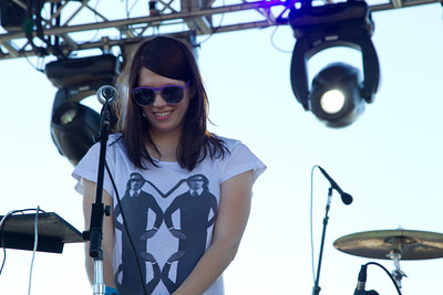 K.Flay, 10/13/2012, Treasure Island Music Festival, San Francisco