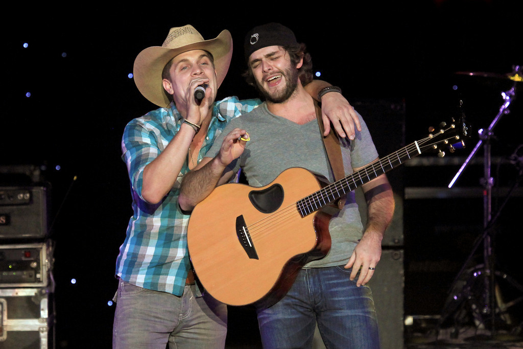 Dustin Lynch and Thomas Rhett