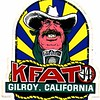 Original KFAT sticker, 1975