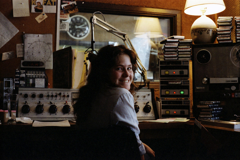 Amy on her afternoon program, 1981