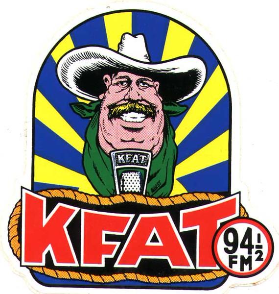 KFAT sticker, 1980 version