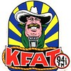 KFAT sticker, 1980 version