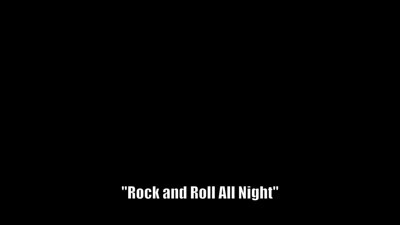 "KISS ""Rock and Roll All Night"""