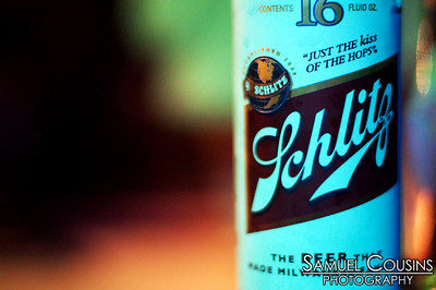Schlitz - at least it's better than I remember...