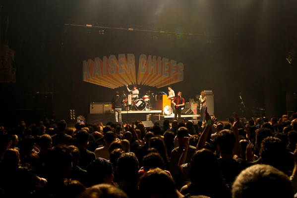 The Kaiser Chiefs - The Beacon Theatre,NYC - September 29th, 2007 - Pic 1