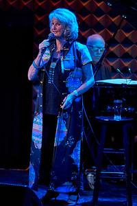 New York, New York - Sept. 30, 2015 : Norwegian Singer Karin Krog accompanied by pianist Steve Kuhn perform at New York's Joes' Pub.    Credit: Robert Altman