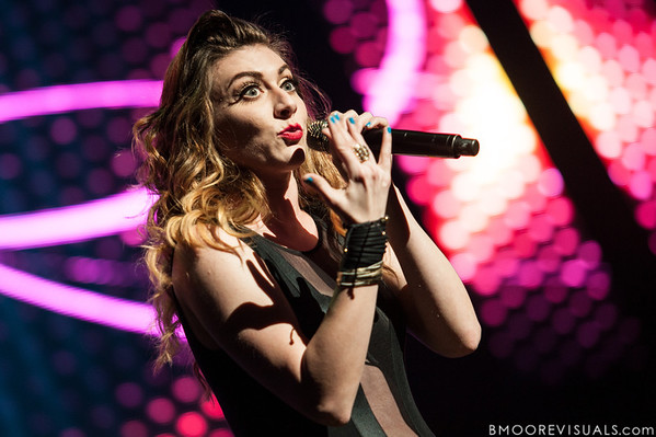Karmin perform on December 8, 2012 during the Y100 Jingle Ball at BB&T Center in Sunrise, Florida