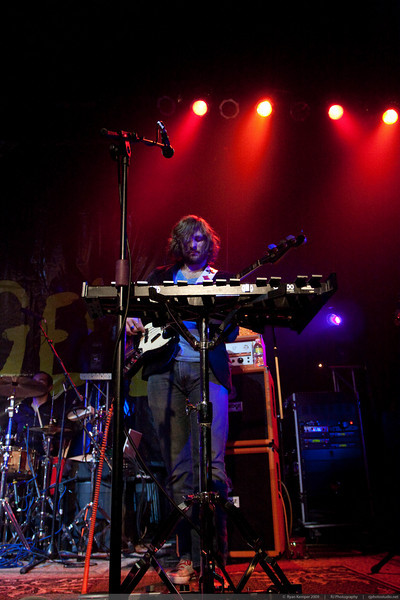 Mark Tobik (Bass) performs with Kate Voegele at Revolution Hall on October 13, 2009