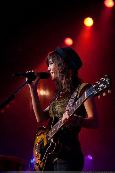 Kate Voegele performing on October 13, 2009 at Revoultion Hall
