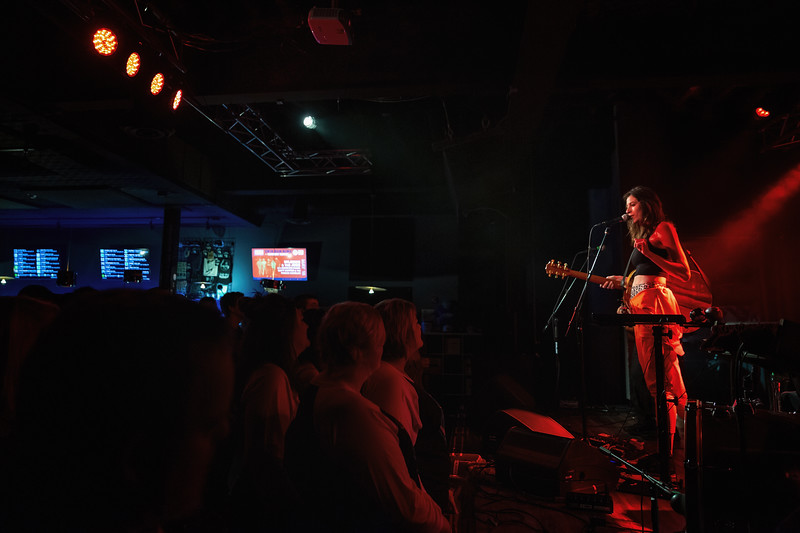 Katie Toupin at the Hi-Fi Indy on May  19, 2019. Photo by Tony Vasquez.