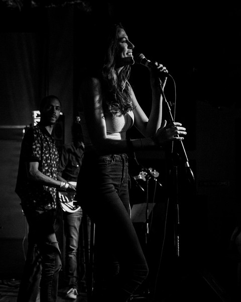August 27, 2018 Katie Toupin at Hi-Fi in Indianapolis, Indiana. Photo by Tony Vasquez for Entranced Media.