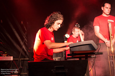 Kayenn jazz festival 2015 Septeto internacional