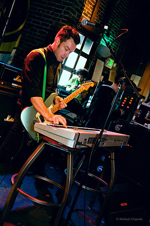 Justin Mauriello of Darling Thieves 93.3 KTCL 2011 Keggs and Eggs St. Patrick's Day Lodo's Bar and Grill Denver, CO  March 17, 2011
