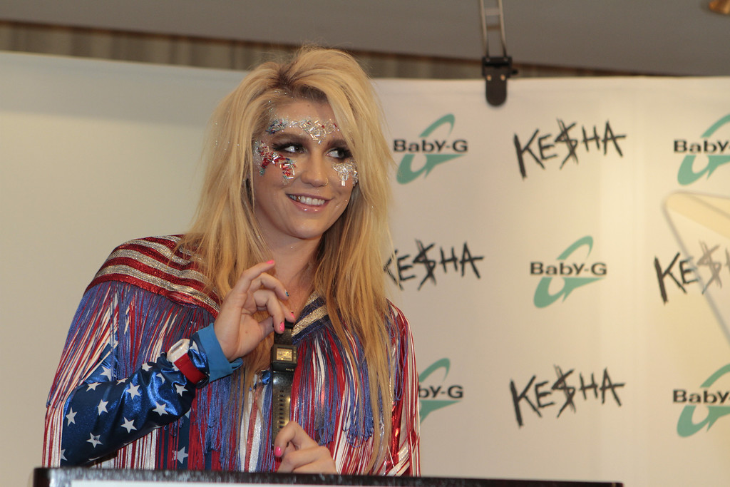 Ke$ha unveils 2 new Casio watches at the Westin Hotel in San Francisco, Calif. on Wednesday, September 14th, 2011.