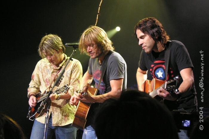 Chad, Keith, and Chris jammin'.