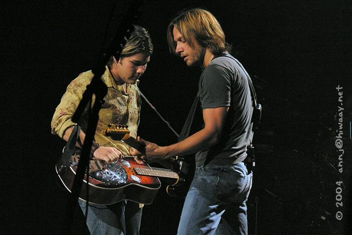 Chad and Keith jammin'.