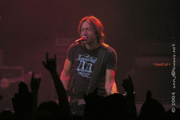 Detroit, State Theatre<br /> Keith Urban